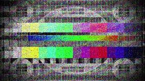Απώλεια σήματος στη δορυφορική κεραία TV διανυσματική απεικόνιση