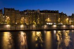 απλάδι ποταμών του Παρισι&o Στοκ φωτογραφία με δικαίωμα ελεύθερης χρήσης