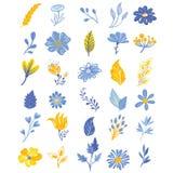 Απλά λουλούδια Στοκ Εικόνες