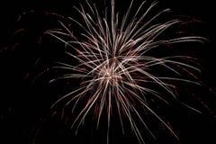 Απλά πυροτεχνήματα Στοκ Φωτογραφίες
