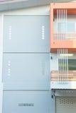 Απλά ύφος του νέου κτηρίου Στοκ φωτογραφία με δικαίωμα ελεύθερης χρήσης