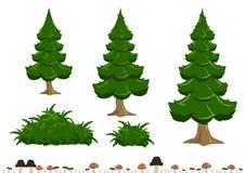 Απλή απεικόνιση δέντρων Στοκ φωτογραφία με δικαίωμα ελεύθερης χρήσης