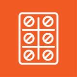 Απλή διανυσματική απεικόνιση εικονιδίων χαπιών Στοκ φωτογραφία με δικαίωμα ελεύθερης χρήσης
