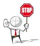 Απλοί επιχειρηματίες - στάση Στοκ εικόνα με δικαίωμα ελεύθερης χρήσης