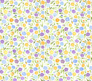 Απλό μικρό άνευ ραφής σχέδιο λουλουδιών Στοκ φωτογραφία με δικαίωμα ελεύθερης χρήσης