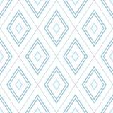 Απλό σχέδιο του μπλε ρόμβου Στοκ Εικόνες