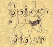 αράχνη μηλίτη Στοκ Φωτογραφία