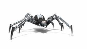 Αράχνη ρομπότ ελεύθερη απεικόνιση δικαιώματος