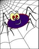 Αράχνη στο spiderweb 2 Στοκ φωτογραφία με δικαίωμα ελεύθερης χρήσης