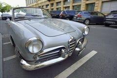 1958 αράχνη της Alfa Romeo Giulietta Στοκ Εικόνα