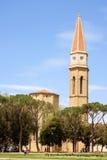 Καθεδρικός ναός του Αρέζο στην Τοσκάνη, Ιταλία Στοκ Φωτογραφία