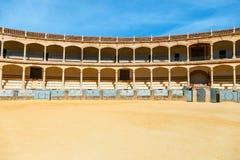 Αρένα ταυρομαχίας στη Ronda, Ανδαλουσία, Ισπανία Στοκ φωτογραφίες με δικαίωμα ελεύθερης χρήσης
