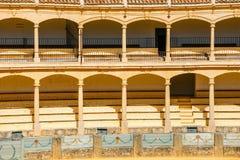 Αρένα ταυρομαχίας στη Ronda στην Ανδαλουσία, Ισπανία Στοκ Εικόνα