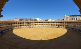 Αρένα ταυρομαχίας ταυρομαχιών Plaza de Toros Στοκ εικόνα με δικαίωμα ελεύθερης χρήσης