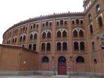 Αρένα ταυρομαχίας της Μαδρίτης Στοκ φωτογραφία με δικαίωμα ελεύθερης χρήσης