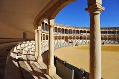 Αρένα ταυρομαχίας της Ronda, Ισπανία Στοκ εικόνα με δικαίωμα ελεύθερης χρήσης