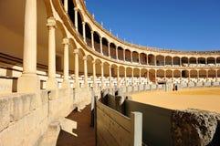 Αρένα ταυρομαχίας της Ronda, Ισπανία Στοκ φωτογραφία με δικαίωμα ελεύθερης χρήσης