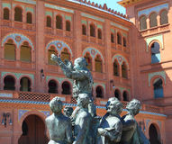 Αρένα ταυρομαχίας Las Ventas Plaza της Μαδρίτης μνημειακό Στοκ Φωτογραφία