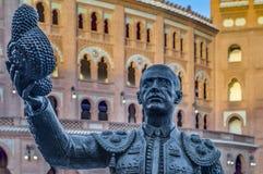 Αρένα ταυρομαχίας Ventas Las στη Μαδρίτη, Ισπανία Στοκ φωτογραφία με δικαίωμα ελεύθερης χρήσης