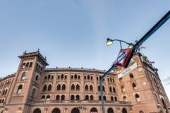 Αρένα ταυρομαχίας Ventas Las στη Μαδρίτη, Ισπανία Στοκ Εικόνα