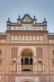 Αρένα ταυρομαχίας Ventas Las στη Μαδρίτη, Ισπανία Στοκ εικόνα με δικαίωμα ελεύθερης χρήσης