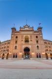 Αρένα ταυρομαχίας Ventas Las στη Μαδρίτη, Ισπανία Στοκ εικόνες με δικαίωμα ελεύθερης χρήσης