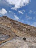 Αρίστης ποιότητας ανθρακωρυχείο, στρώμα άνθρακα στοκ φωτογραφίες