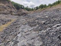 Αρίστης ποιότητας ανθρακωρυχείο, στρώμα άνθρακα στοκ εικόνα