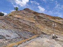 Αρίστης ποιότητας ανθρακωρυχείο, στρώμα άνθρακα στοκ φωτογραφία