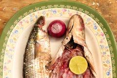 Αραβικά αιγυπτιακά αλατισμένα ψάρια Στοκ Φωτογραφίες