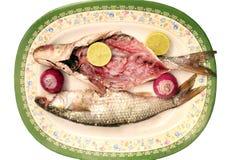 Αραβικά αιγυπτιακά αλατισμένα ψάρια Στοκ φωτογραφίες με δικαίωμα ελεύθερης χρήσης