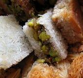 αραβικά γλυκά 1 Στοκ Εικόνες
