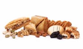 αραβικά γλυκά Στοκ εικόνες με δικαίωμα ελεύθερης χρήσης