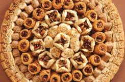 αραβικά γλυκά Στοκ Εικόνα