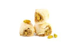 Αραβικά γλυκά φυστικιών Στοκ Φωτογραφία