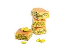 Αραβικά γλυκά φυστικιών Στοκ εικόνες με δικαίωμα ελεύθερης χρήσης