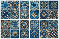 Αραβικά διακοσμητικά κεραμίδια Στοκ εικόνα με δικαίωμα ελεύθερης χρήσης