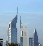 αραβικά εμιράτα του Ντουμπάι αρχιτεκτονικής που ενώνονται στοκ φωτογραφία