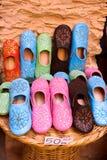 αραβικά θηλυκά παπούτσια Στοκ Φωτογραφία