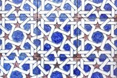 αραβικά Ισπανία κεραμίδια Στοκ Εικόνα