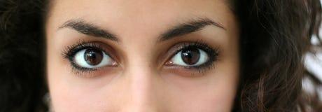 αραβικά μάτια στοκ φωτογραφίες