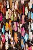 αραβικά παπούτσια Στοκ Εικόνες