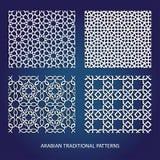 αραβικά πρότυπα Στοκ εικόνα με δικαίωμα ελεύθερης χρήσης