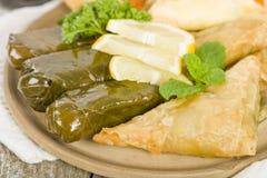 Αραβικά πρόχειρα φαγητά - Sarma Στοκ φωτογραφία με δικαίωμα ελεύθερης χρήσης