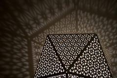 Αραβικά φω'τα με τις σκιές Στοκ Φωτογραφίες
