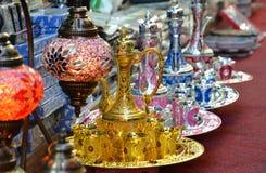 Αραβικά Teapots Στοκ εικόνες με δικαίωμα ελεύθερης χρήσης