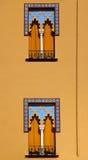 αραβικά Windows ύφους της Κόρδοβα Ισπανία Στοκ Εικόνες