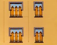 αραβικά Windows ύφους της Κόρδοβα Ισπανία Στοκ Φωτογραφίες