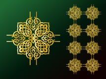 αραβικές διακοσμήσεις απεικόνιση αποθεμάτων