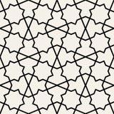 Αραβική άνευ ραφής διακόσμηση αφηρημένη ανασκόπηση Στοκ φωτογραφίες με δικαίωμα ελεύθερης χρήσης